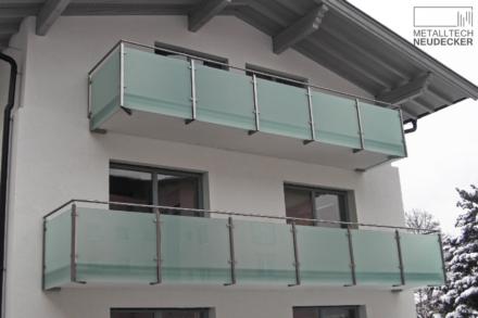 Absturzsicherung aus Glas