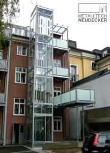 Stahlbau Glaslift