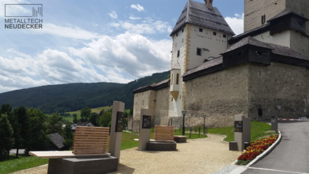 Leitsystem Burg Mauterndorf