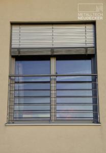 franz. Fenstergitter Stabgeländer